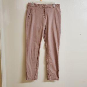 Professional Dusty Rose Khakis Work Pants
